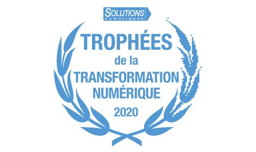 Logo Trophées de la Transformation Numérique 2020